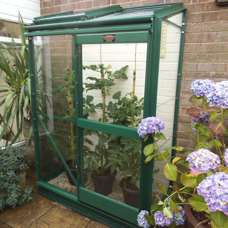 Elite Easygrow 2x4 Lean To South West Greenhouses