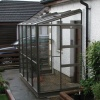 4x18 Elite Kensington Lean To Aluminium Finish