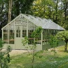 Swallow 13'-1 x 12'-7 Falcon Wooden Greenhouse