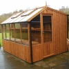 Swallow 8'-9 x 12'-7 Rook Potting Shed