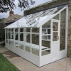 Swallow 6'-7 x 4'-3 Dove Lean To Greenhouse