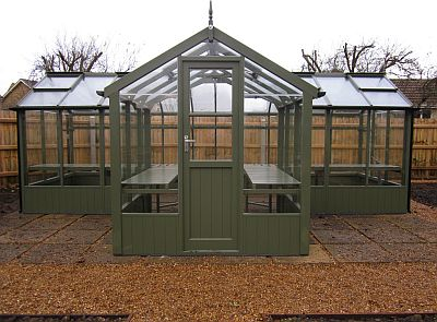 Swallow green greenhouse