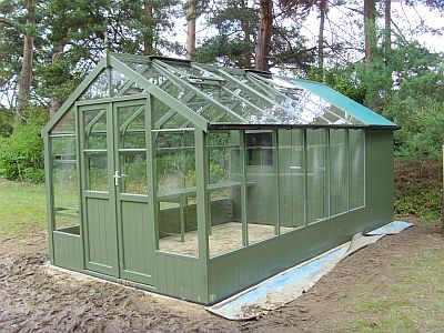 Barcken green swallow greenhouse
