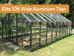 Elite 10ft Wide Aluminium Titan