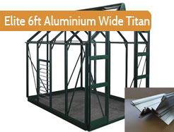 Elite Aluminium 6ft Wide Titan