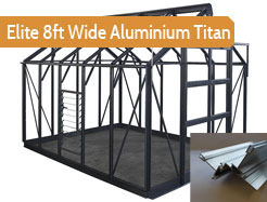 Elite 8ft Wide Aluminium Titan