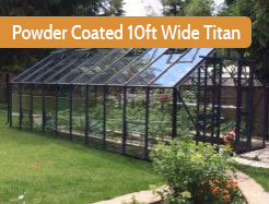 Elite 10ft Wide Powder Coated Titan
