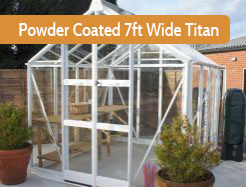 Powder Coated 7ft Wide Titan