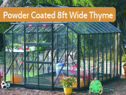 Powder Coated 8ft Wide Thyme