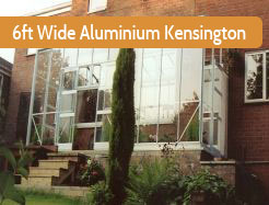 Elite 6ft Wide Kensington Aluminium Lean To