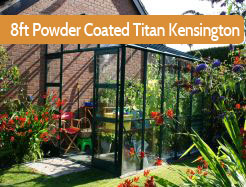 Elite 8ft Wide Titan Kensington Powder Coated Lean To