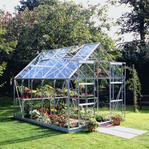 8x10 Greenhouses - Aluminium & Wooden