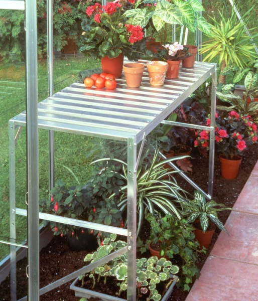 1 Tier Halls Greenhouse Staging
