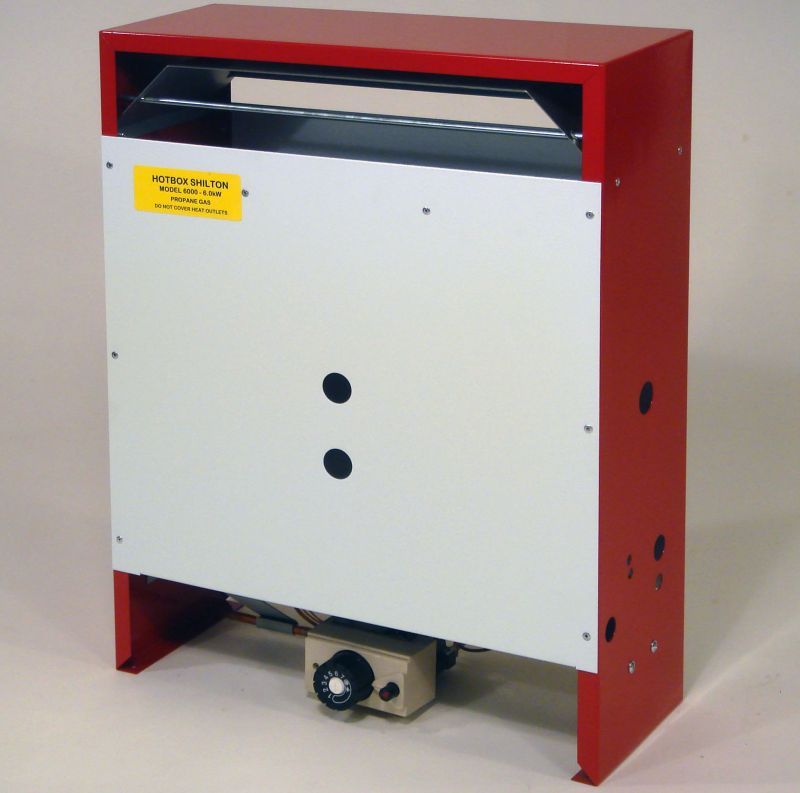 Shilton LPG or Natural Gas 6.0kW Heater