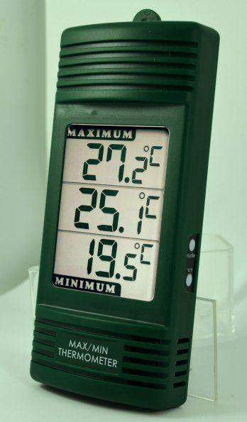 elite digital maximum minimum thermometer. Black Bedroom Furniture Sets. Home Design Ideas