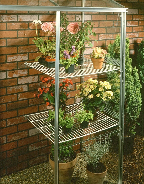 Halls Wall Garden Shelves