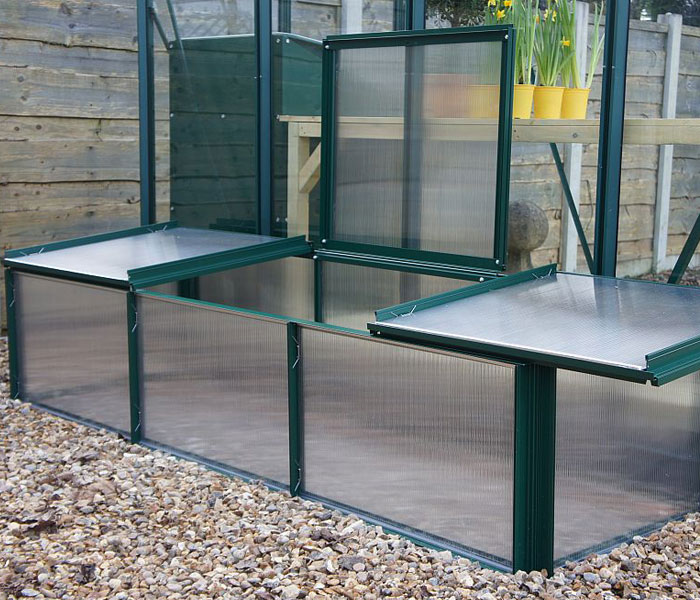 Elite 6x2 igrow Polycarbonate Cold Frame