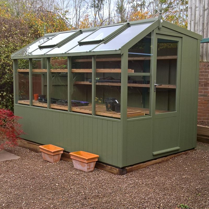 Swallow 6'-8 x 10'-5 Jay Potting Shed