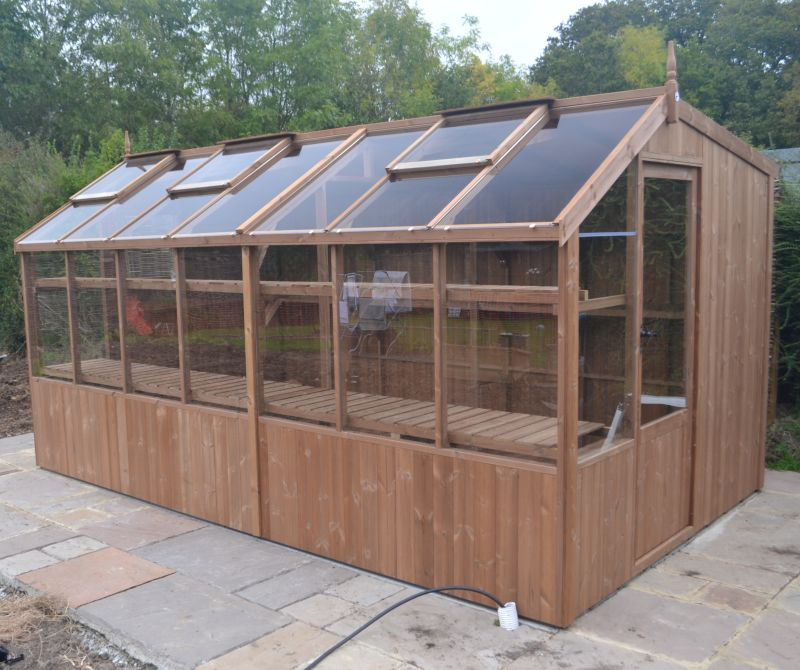 Swallow 8'-9 x 18'10 Rook Potting Shed