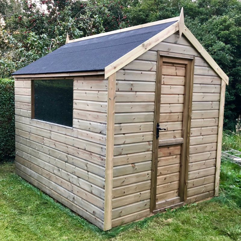 Clearview 6ft x 8ft Harrogate Shed