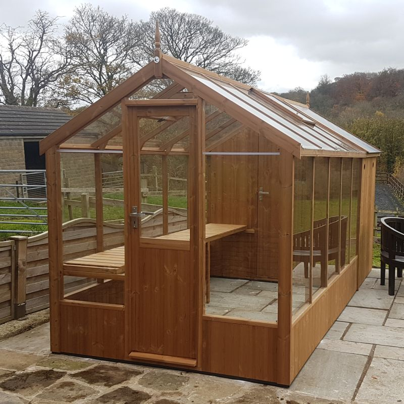 Swallow 6x10 combination shed