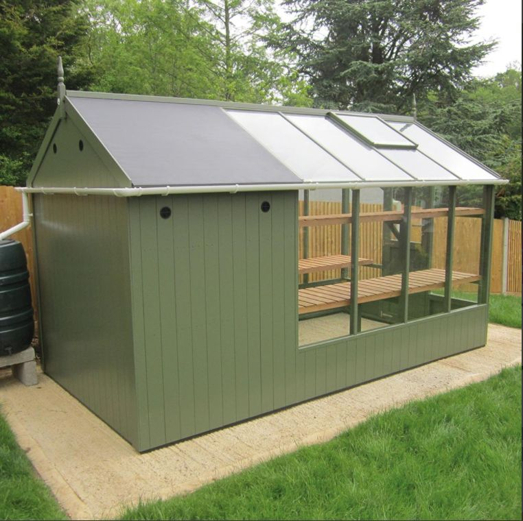 ^ swallow 6x8 combination shed