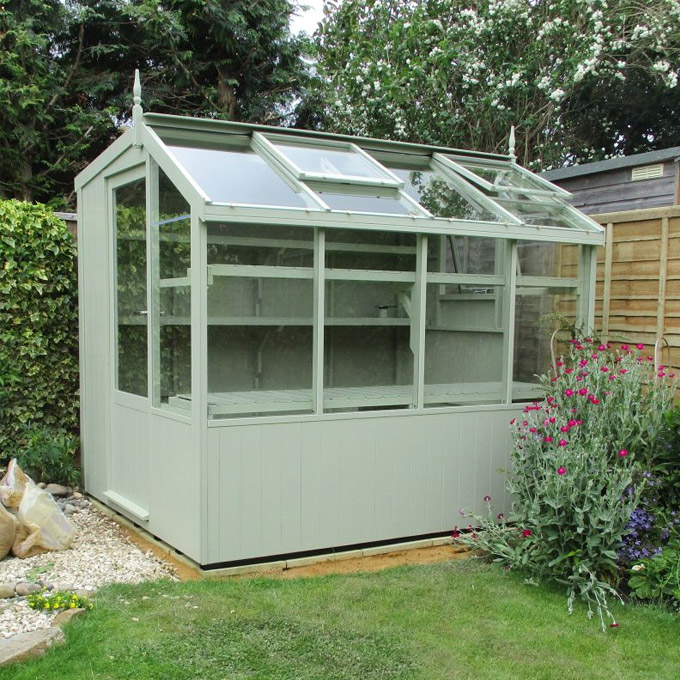 where to put and which way to face a potting shed